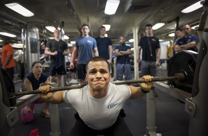 Weight Training Squat