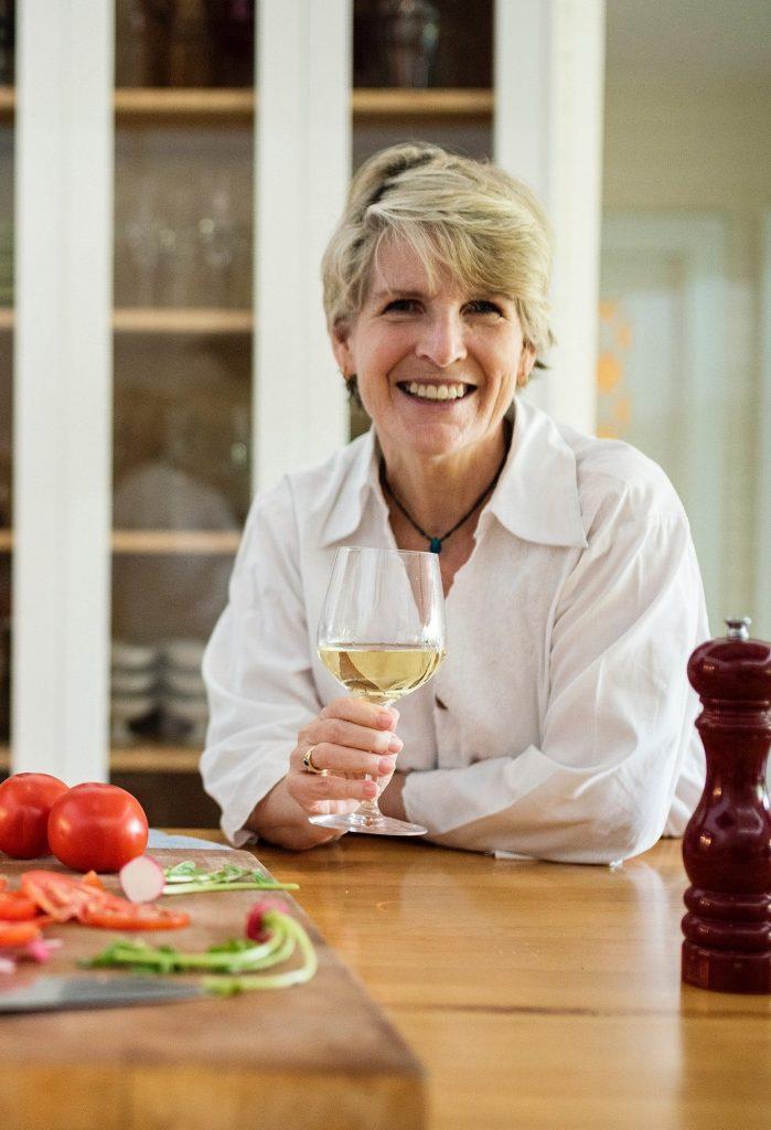 Lady Enjoying Wine