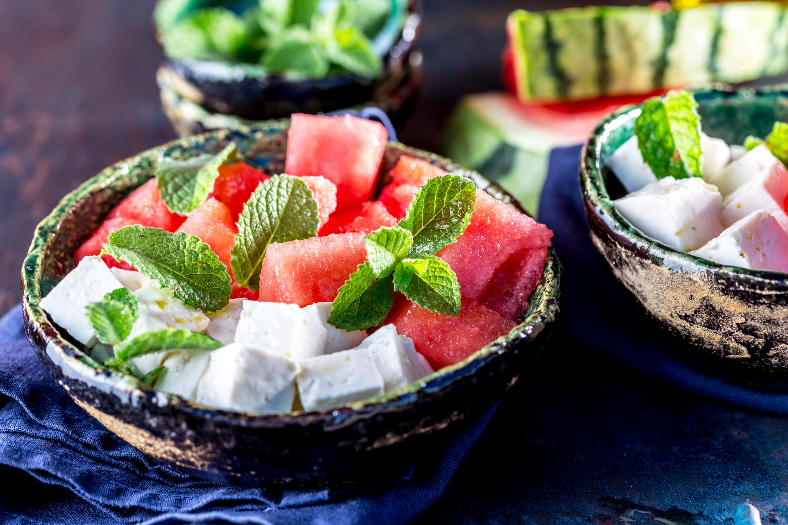 Weight Loss Recipe Watermelon Feta Bites