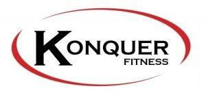 Konquer Fitness Logo White