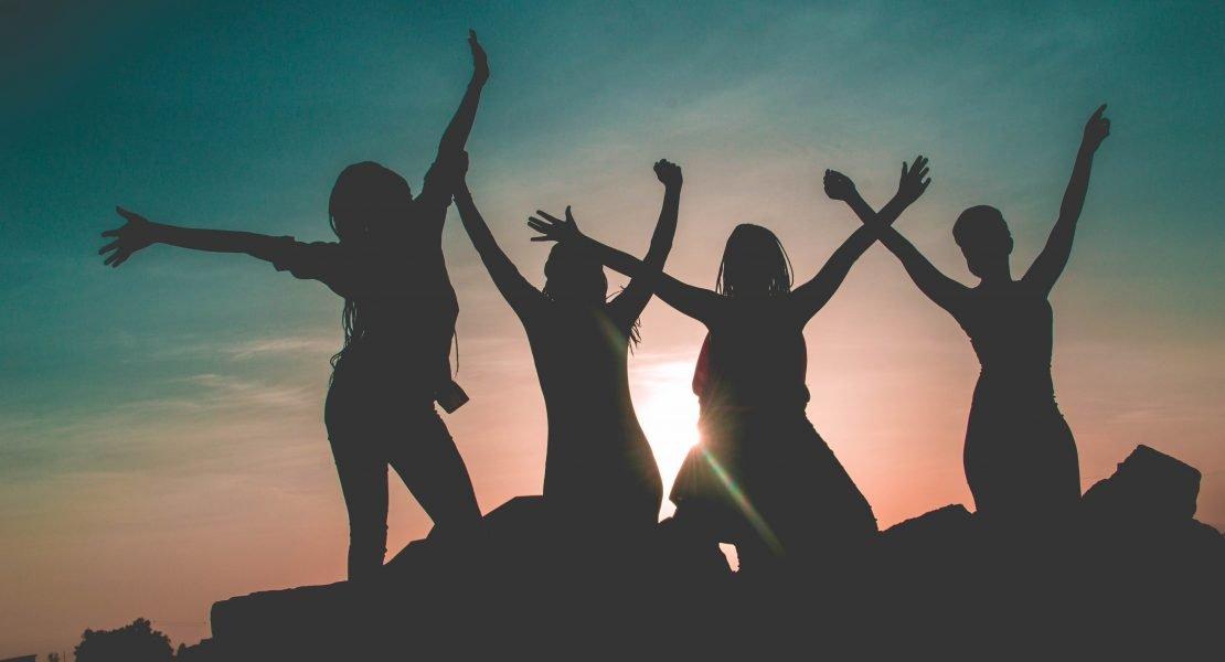 Women Celebrating Together